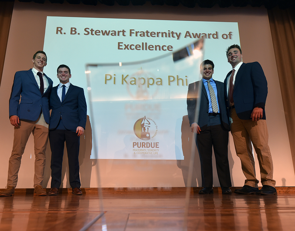 4/8/19 Top Fraternity Award Winner